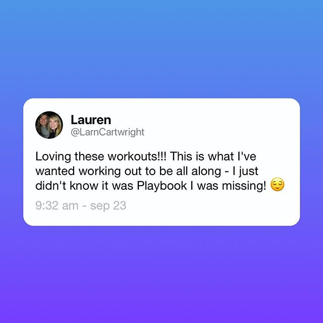 Thank you @larncartwright for the note! We love hearing from you 👋👋. We're working hard to create the most authentic and engaging mobile experience there is. We appreciate you guys sharing feedback to help us get there! — #mobile #mobileapp #userexperience #bettertogether #fitnessapp #trainingpartner