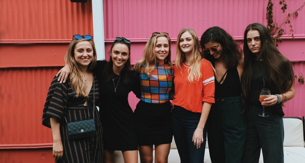 Our Story - SLMBR PRTY was founded by six filmmakers: Leah Donnenberg, Elle Ginter, Sarah Donnenberg, Kirstin VanSkiver, Samantha Scaffidi, and Allison Anderson. After the Women's March in 2017, we were inspired to create change within our own community. We thought to ourselves that between all six of us we must have a killer network of talented women. If we could get all of this creative power together in one room we could build connections that last and impact not only our community, but the film industry at large...while making badass work at the same time!