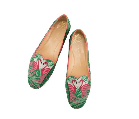 The Flamingo Slipper - I kind of need these because my family lives in South Florida and It is going to feel really wrong wearing any other shoes when I visit.