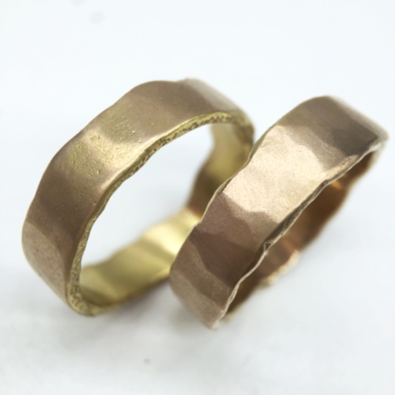 His and His wedding rings, these two made the perfect pair!