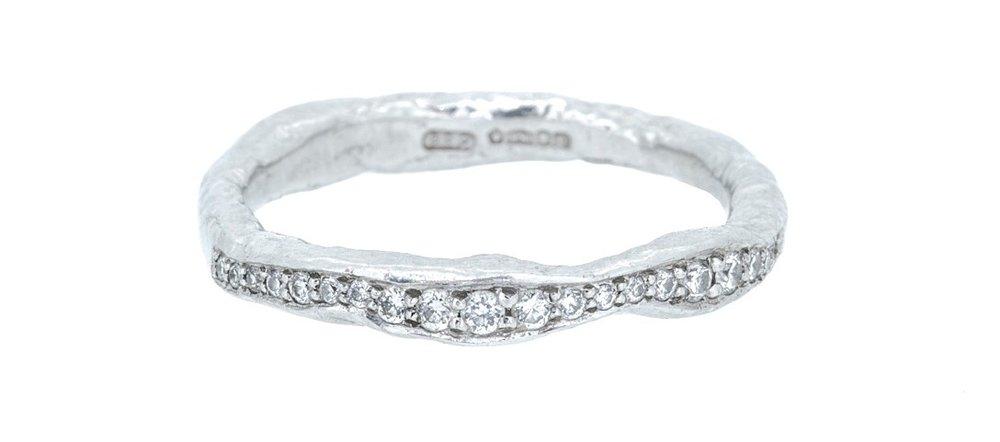 Micro pave set diamonds