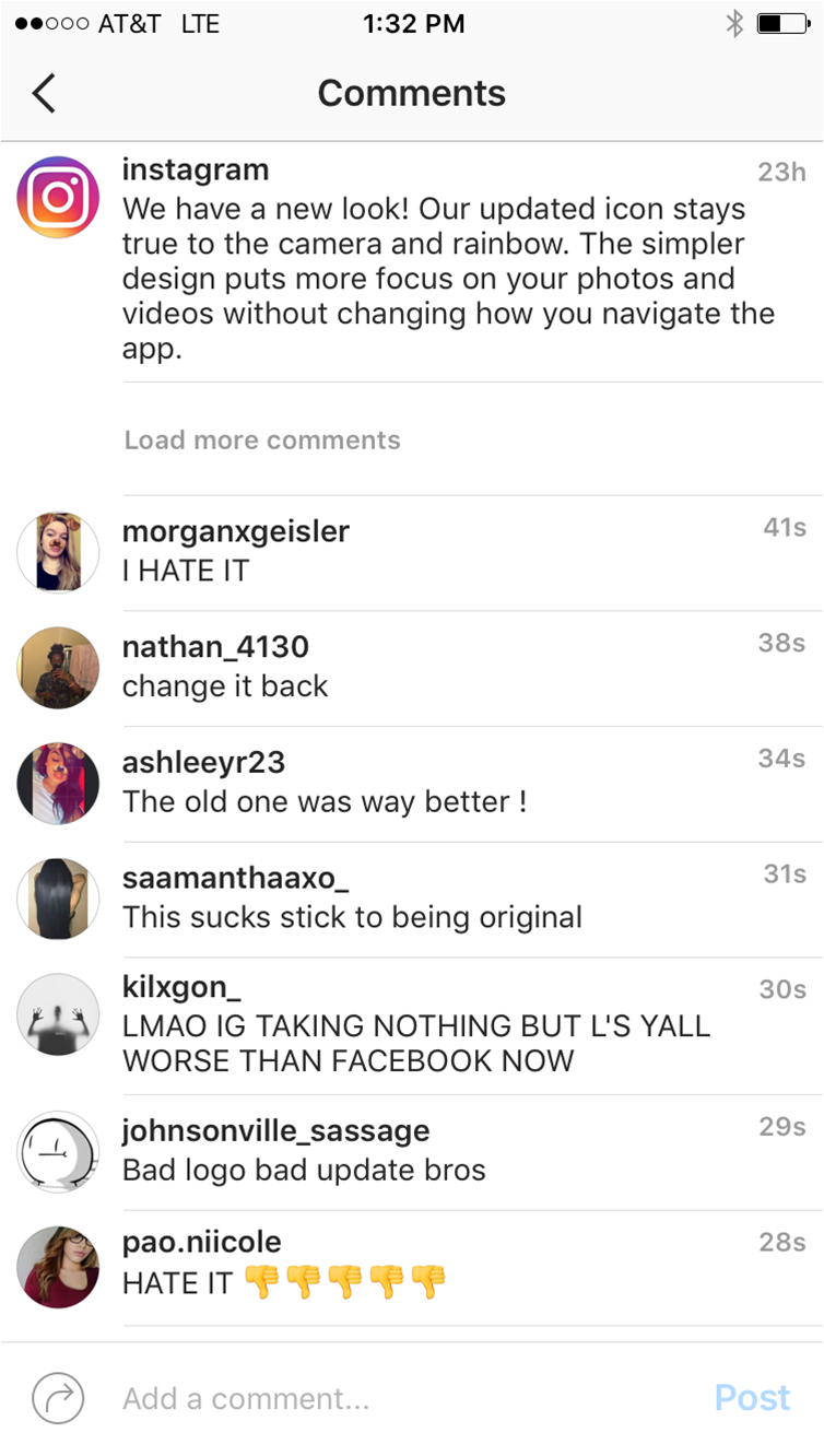 instagramhate
