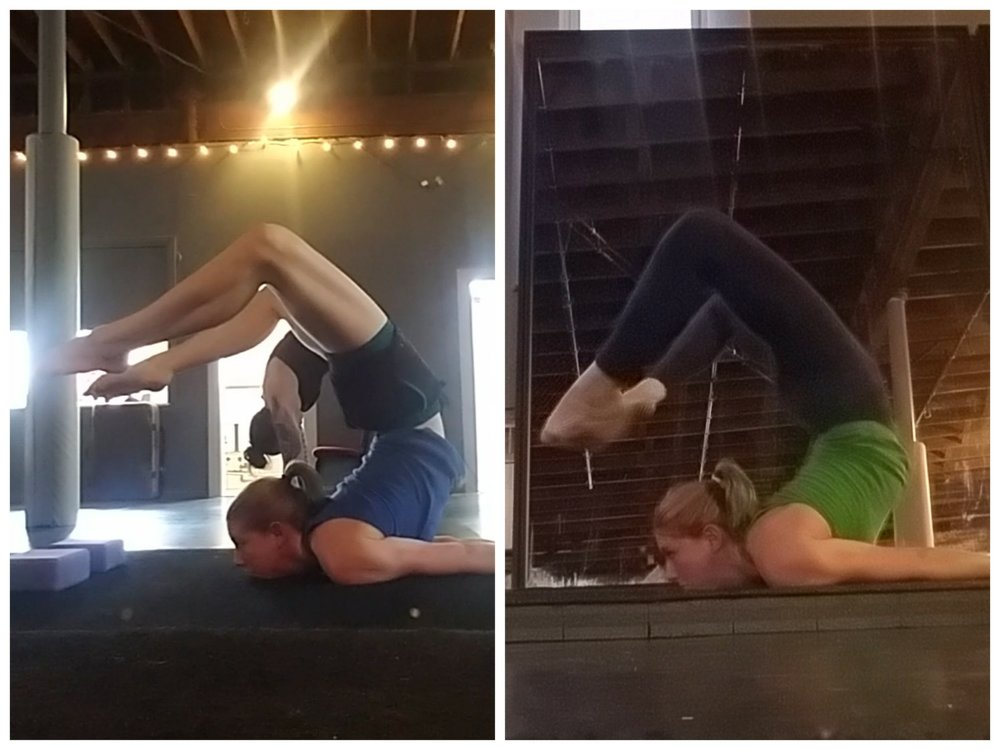 Week 1 vs Week 6 Chest Stand