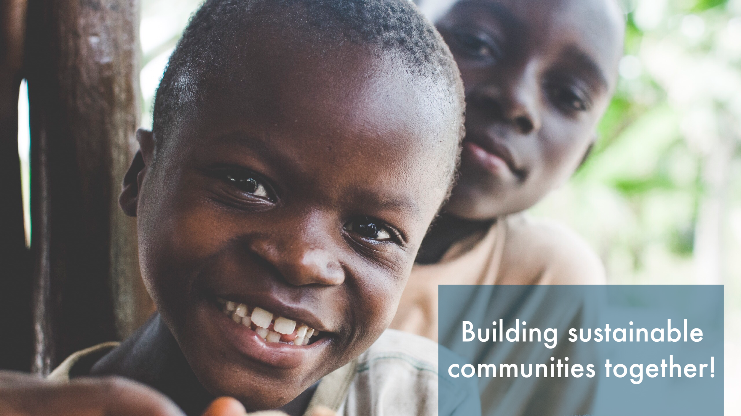 Building Sustainable Communities Together