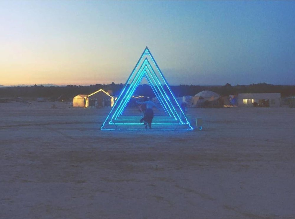 STARGATE - NOWHERE FESTIVAL   LIGHTING // ART INSTALLATION // PIXEL MAPPING