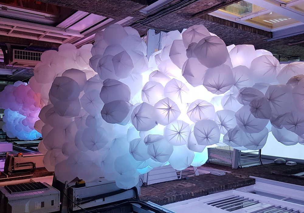 THE CLOUD - WITH AFK + RED DEER    LIGHTING // PIXEL MAPPING // DATA VISUALISATION