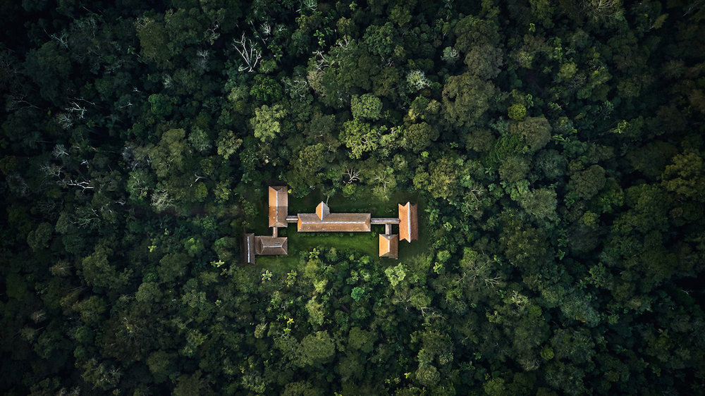 Tambopata Research Centre from the sky