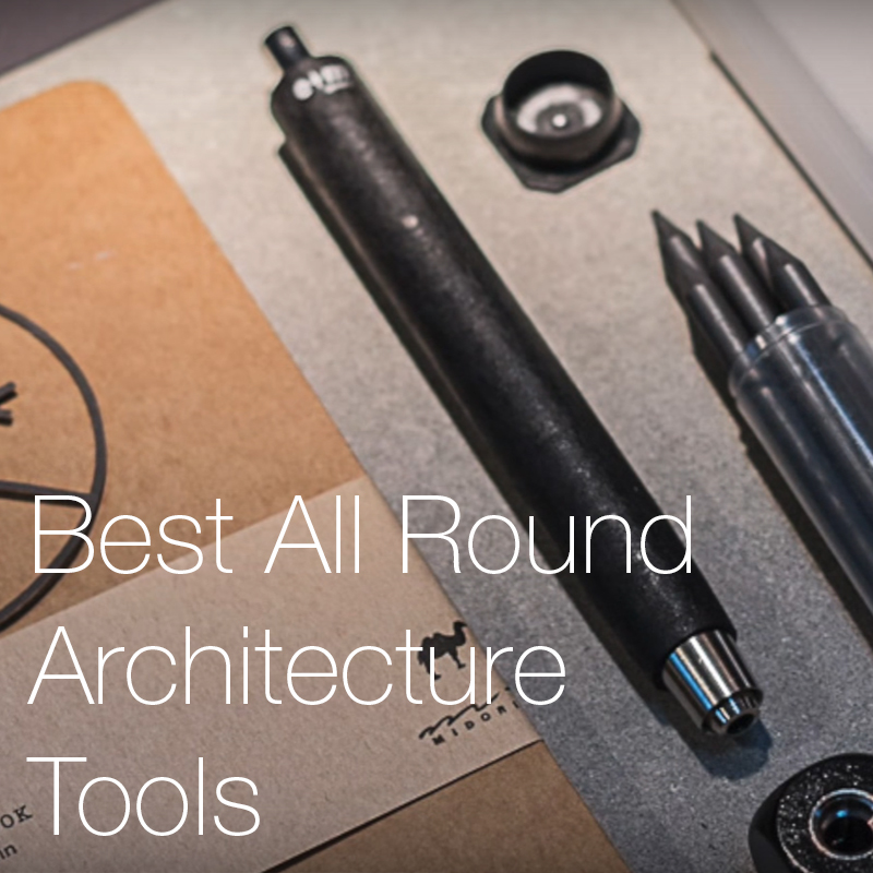 The Best All Round Architectural and Studio Tools.    The most essential architectural tools that are used by every good architect.