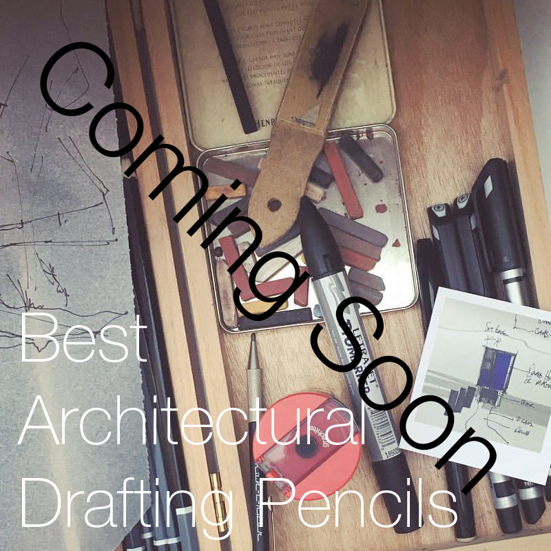 The Best and Most Useful Architecture Books on Materials and Surfaces   A selection of our most recommended drafting and drawing pencils.