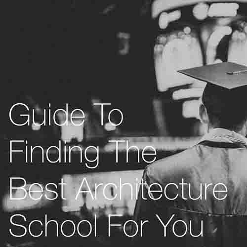 Guide To Finding The Best Architecture School For Yo   u   Finding the right architectural school is in most circumstances the first and most important initial step towards being an architect, and we hope this guide can help you…