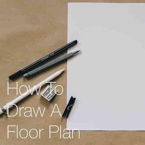 How To Draw A Floor Plan    This post explains how to develop and draw an architectural floor plan from beginning to end, and provides some helpful tips and methods to make drawing your plans more efficient and look even better!