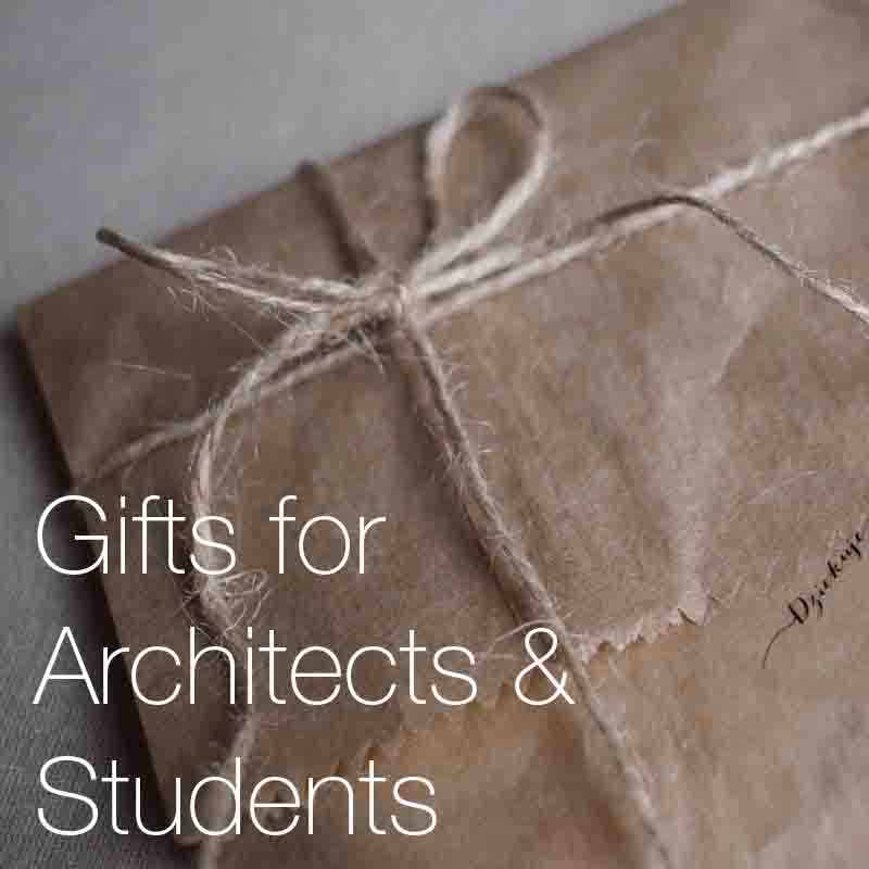 Gifts for architects and students    A selection of the most interesting and original gift ideas that make the perfect Christmas or birthday presents for architects and architectural students in 2018.