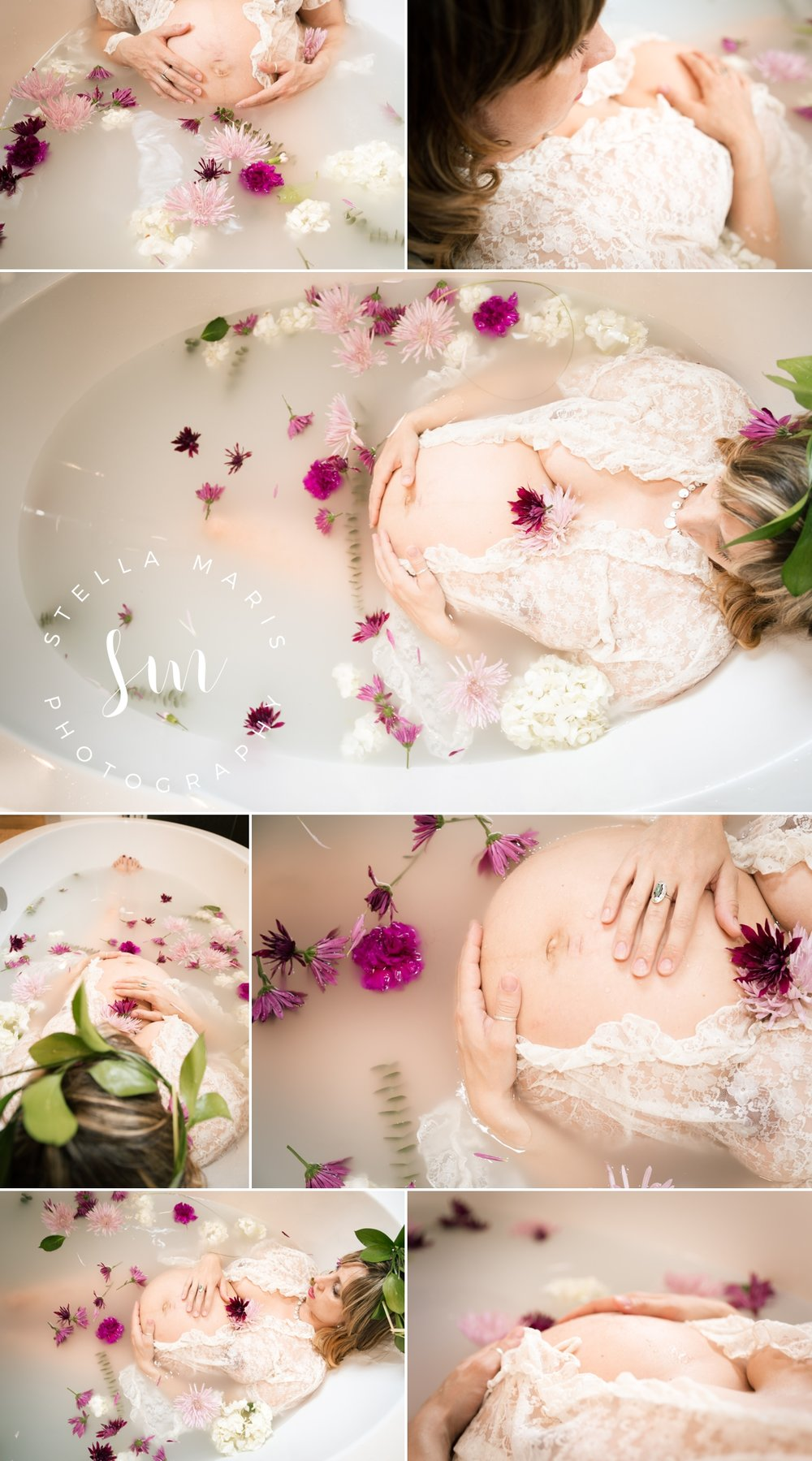Dundee Oregon Milk Bath Session - Maternity