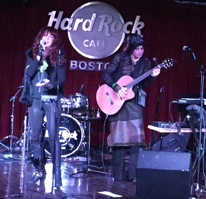 Metamorph at the Hard Rock Cafe Boston Earth Day 2018