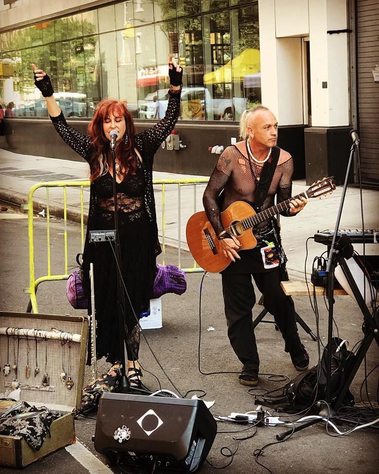 NYC summer 2018 Metamorph music Margot Day & Kurtis Knight