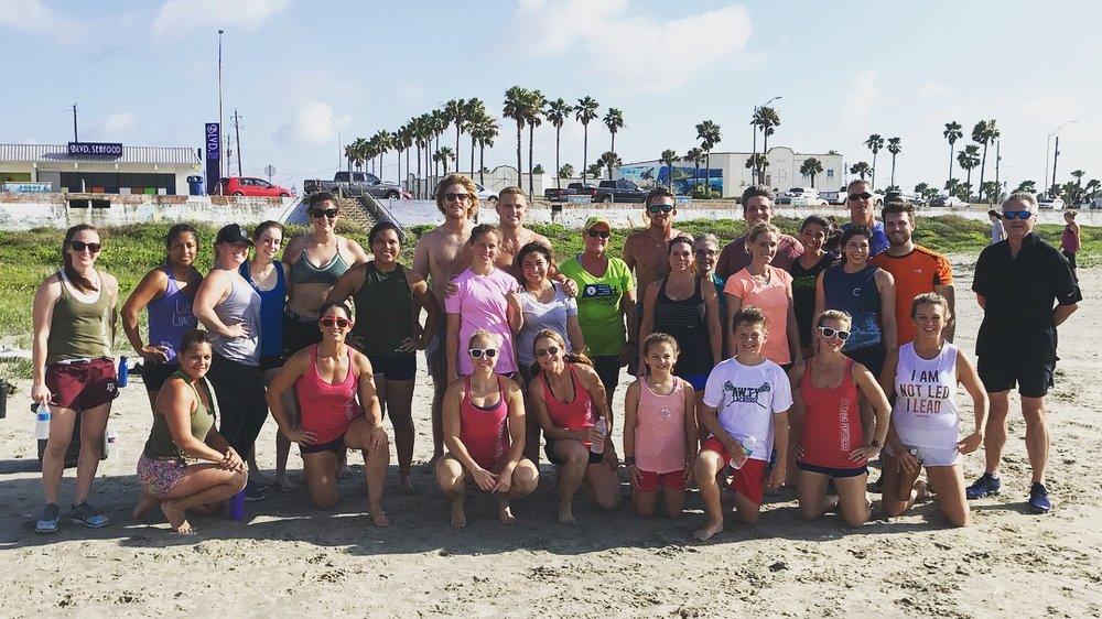 FFCF's Community Beach Workout