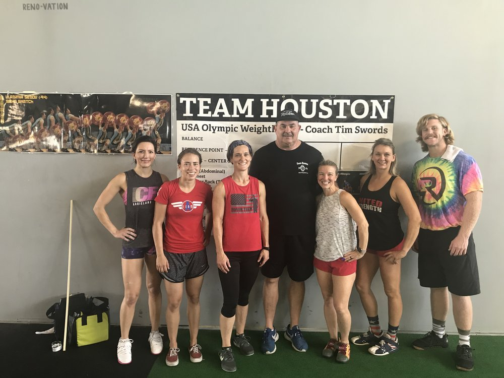 Olympic Lifting class with Tim Swords!