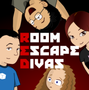 Listen to us on the Room Escape Divas podast here.
