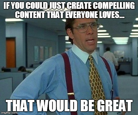 content marketing funny meme