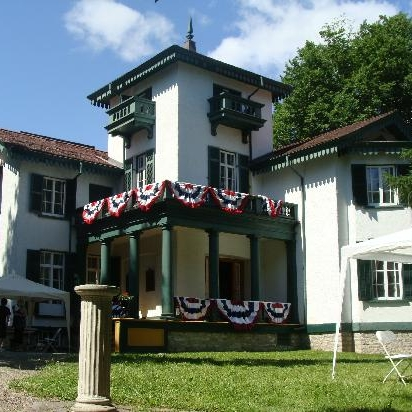 Bellevue House National Historic Site - Sir John A. Macdonald's home while residing in Kingston