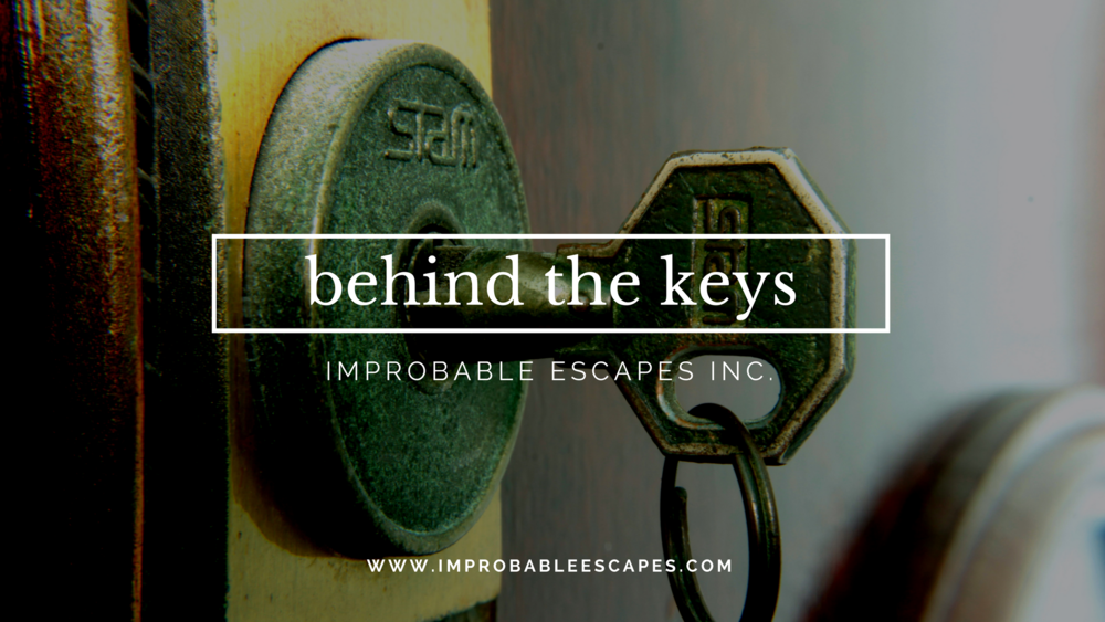 behind the keys with Improbable Escapes