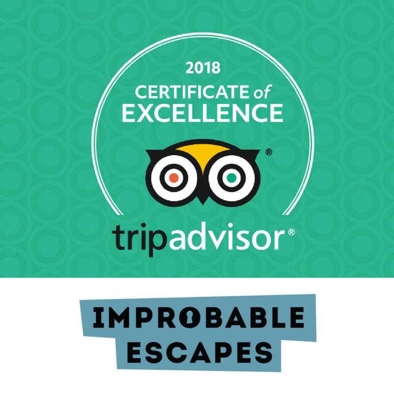 tripadvisor improbable escapes