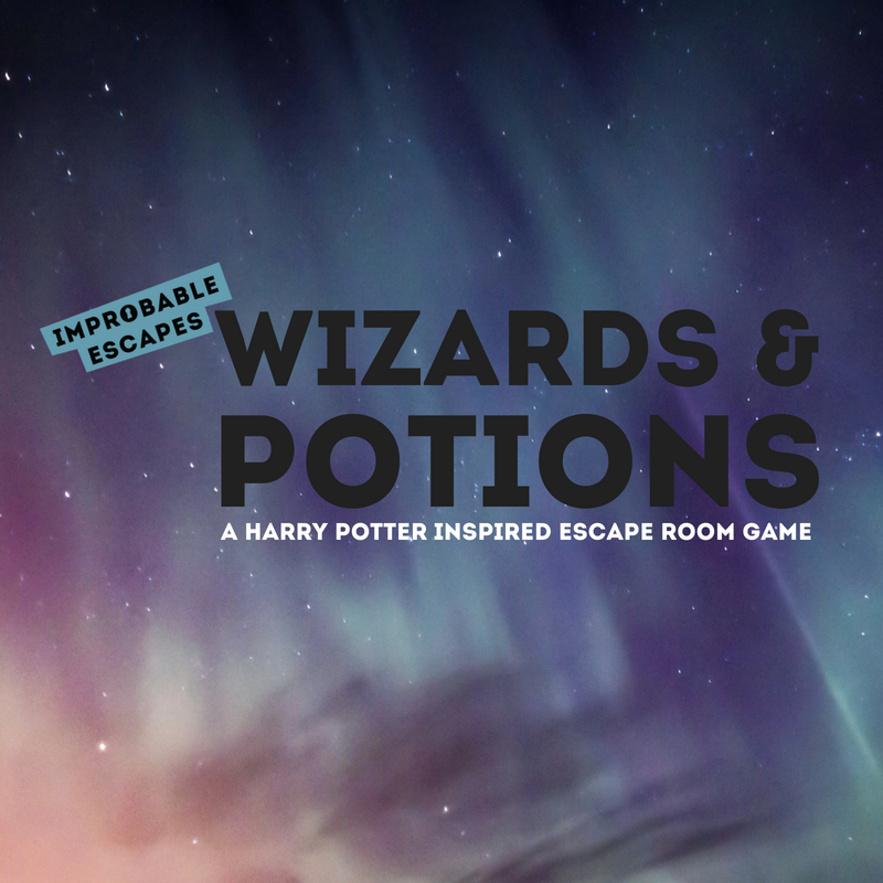 wizards and potions improbable escapes