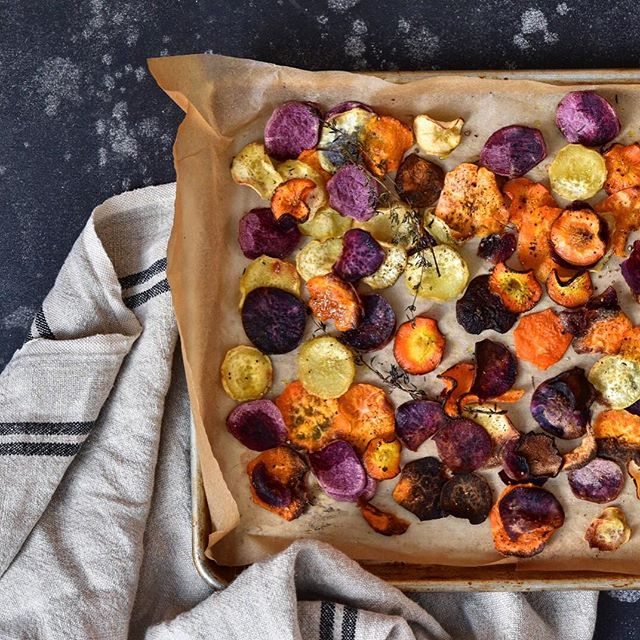 Root Veggie Chips -