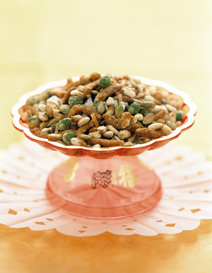 Puffed Rice Trail Mix -