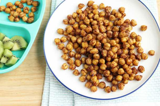 Roasted Chickpeas -