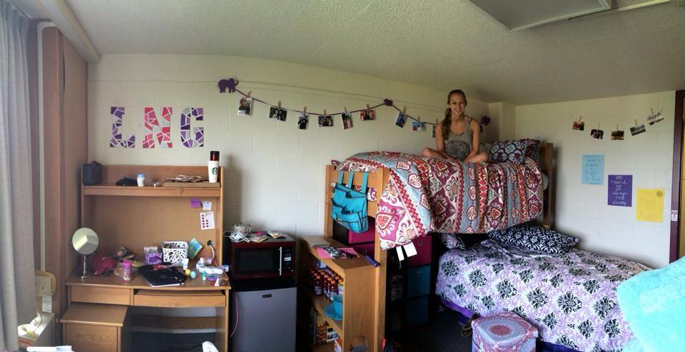 Me in my freshman dorm! Feels like forever ago...