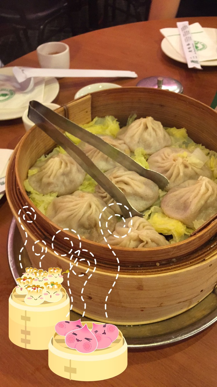 Obsessed with the dumpling snapchat filter you can find at the Chinatown restaurant!