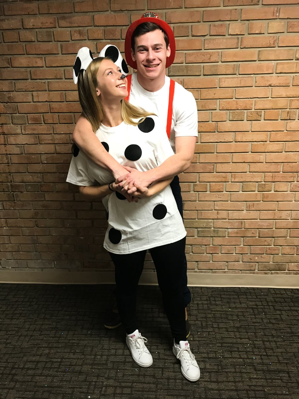 Dalmation and Firefighter Halloween Costume