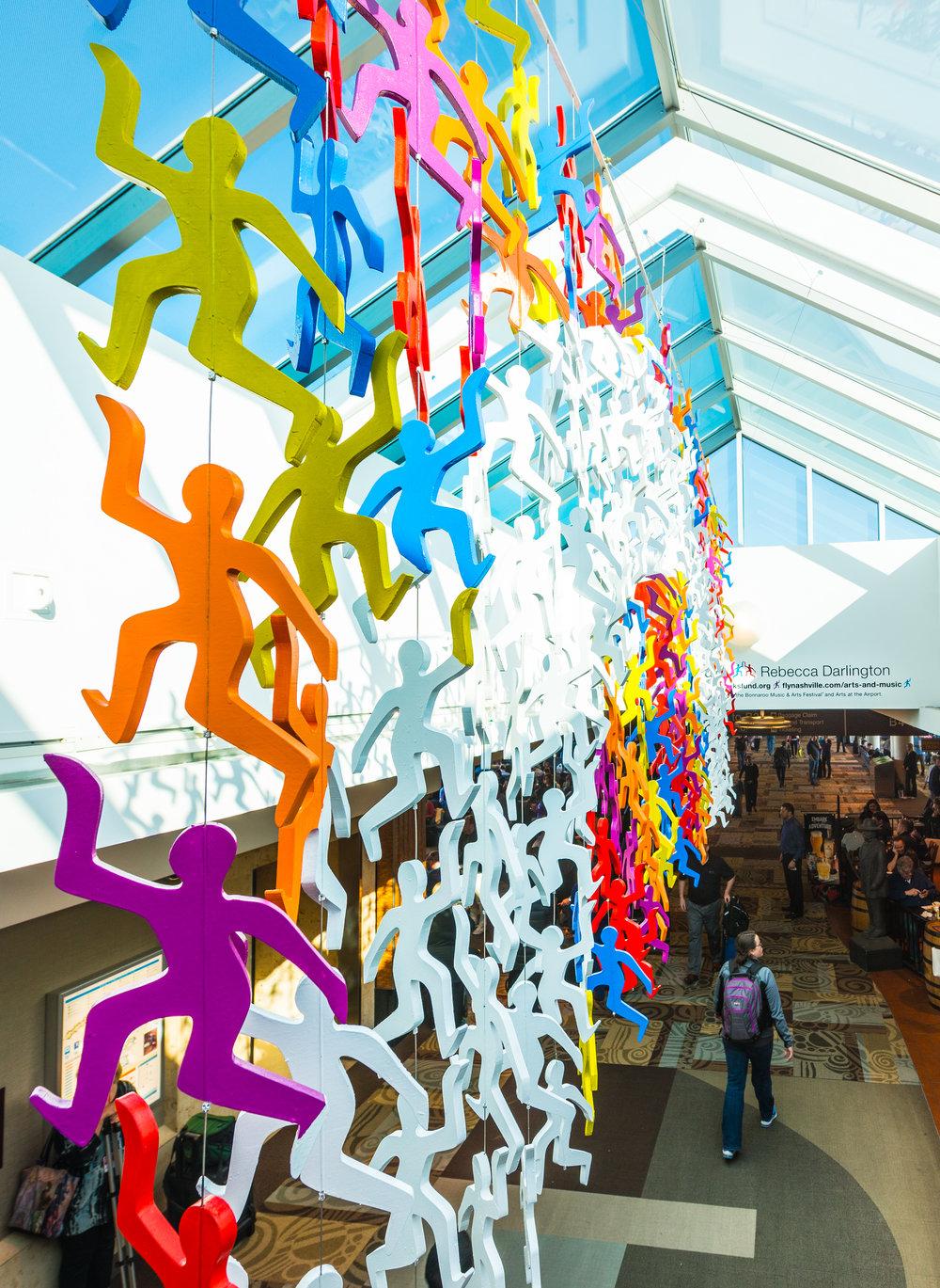 Play as a Team - Nashville International Airport Installation2018-19