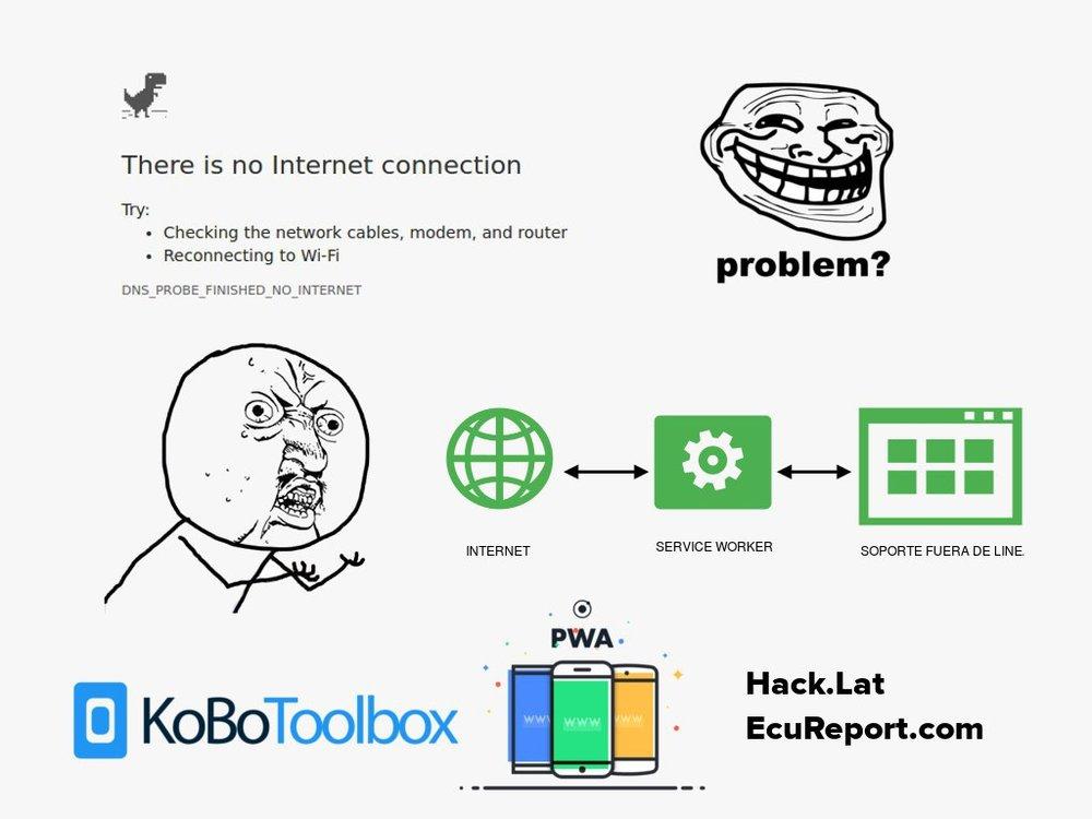 Ecuareport - Fue desarrollado por Carlos De Smedt y su equipo durante el terremoto de Ecuador de 2016, es una herramienta de levantamiento de informaciòn offline con capacidad de sincronización en lugares con conexión limitada. El equipo está trabajando en su despliegue como app y online.
