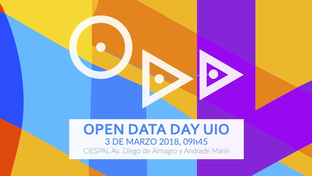 Open Data Day 2018