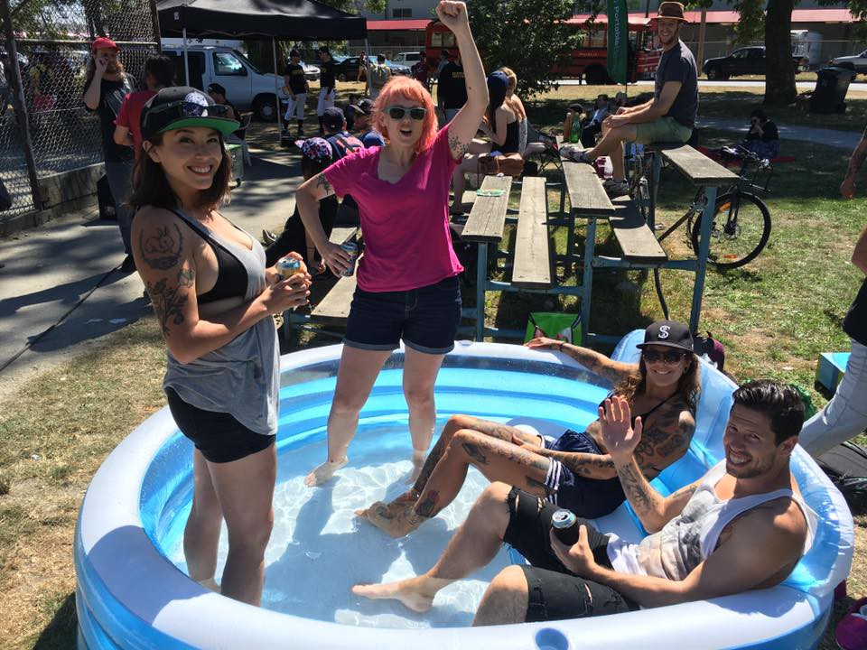 The Splash Zone at Strathcona Park