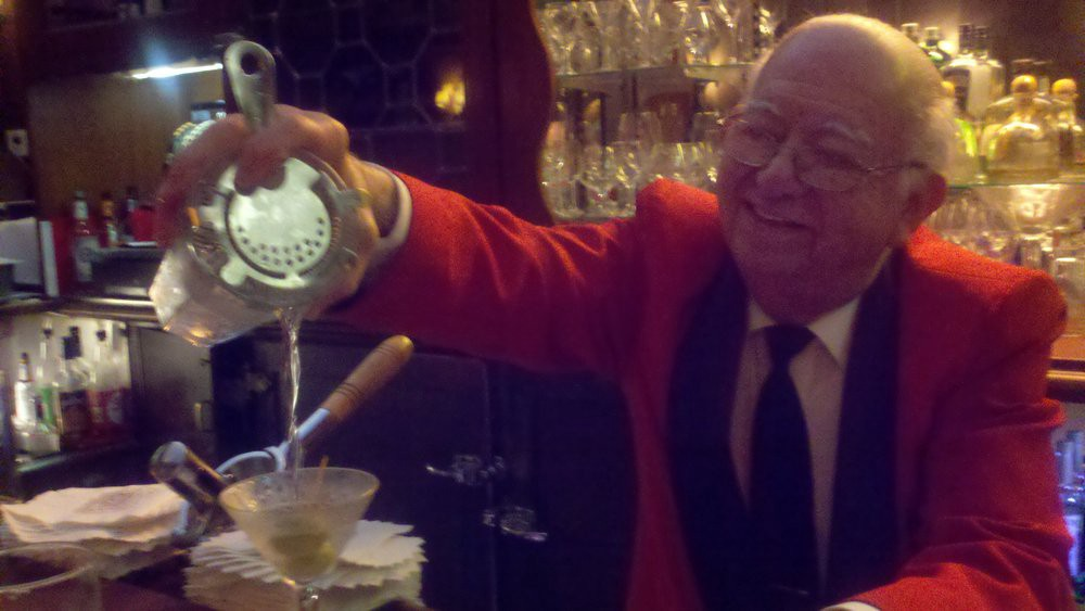 Manny: Roy Madison's official bartender at Musso's