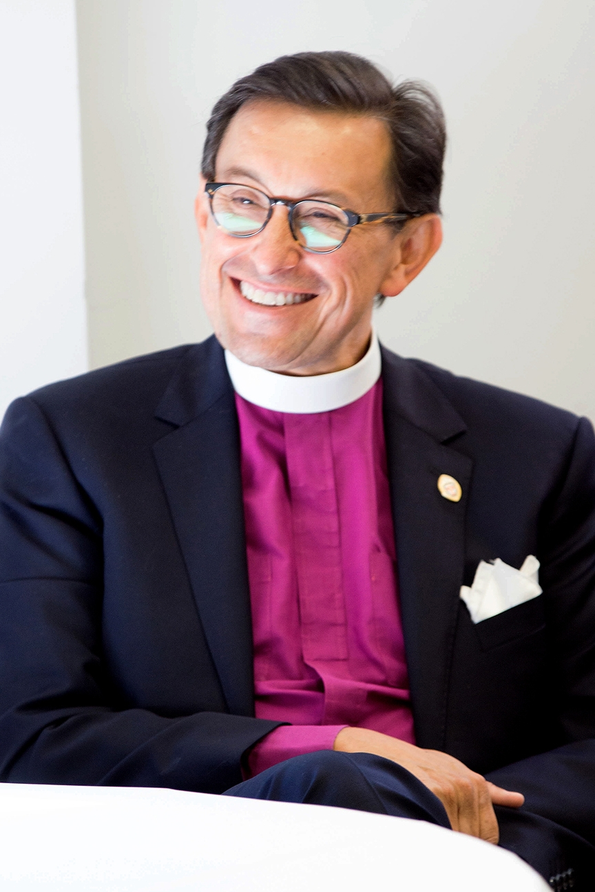 The Rt. Rev. Daniel Gutiérrez