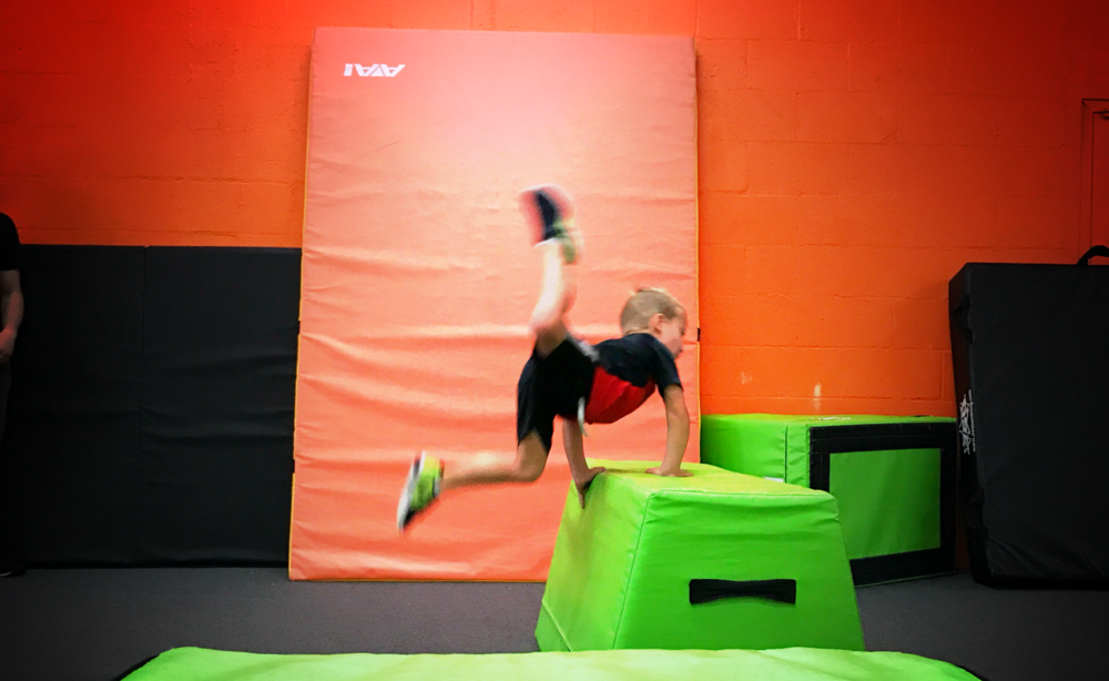 Is Parkour a good idea for my child? -  Science says YES! Click here to find out why!