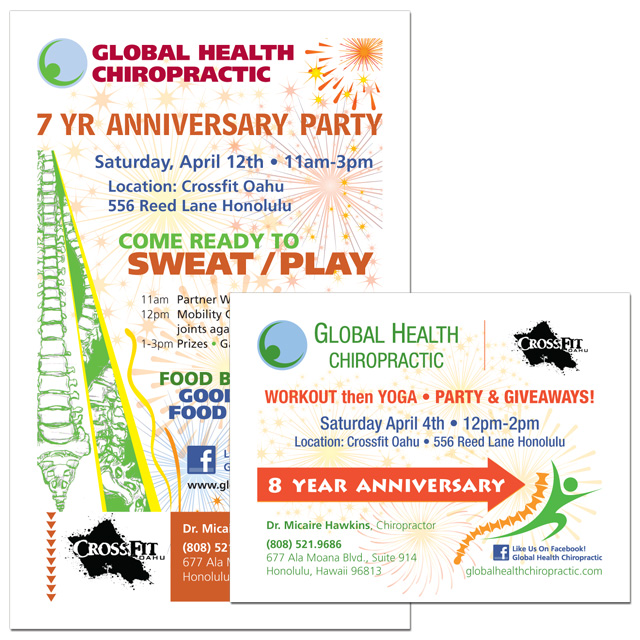 Global Health Chiropractic - Anniversary Flyers.jpg