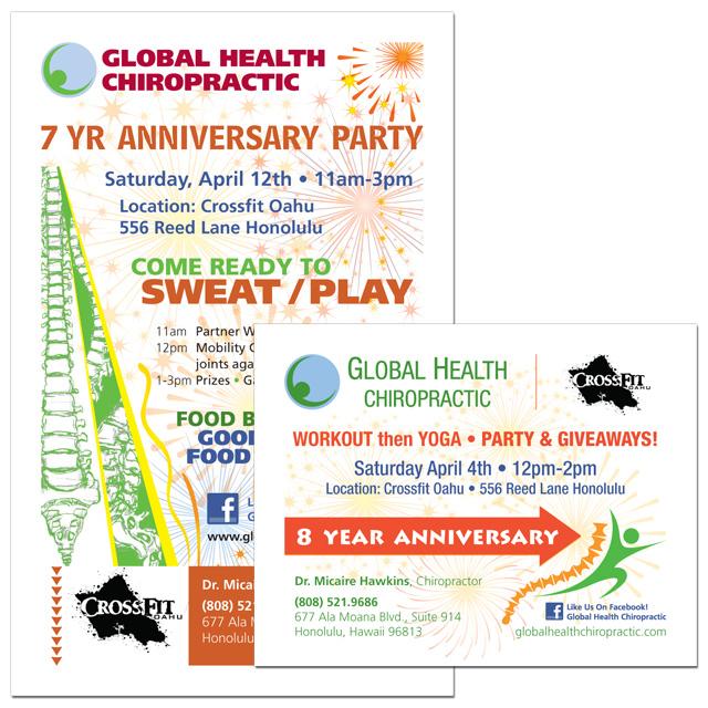 Global Health Chiropractic - Anniversary Flyers.jpg