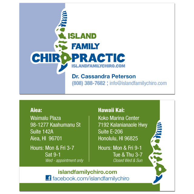Island Family Chiropractic - Business Cards.jpg