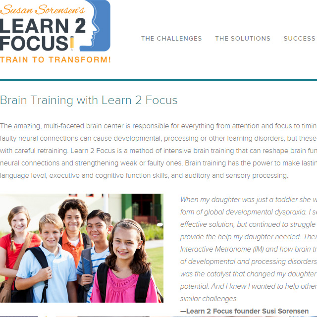 Web - Learn 2 Focus