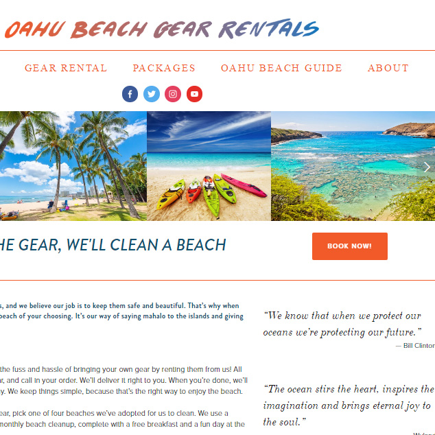 Web - Oahu Beach Gear Rentals