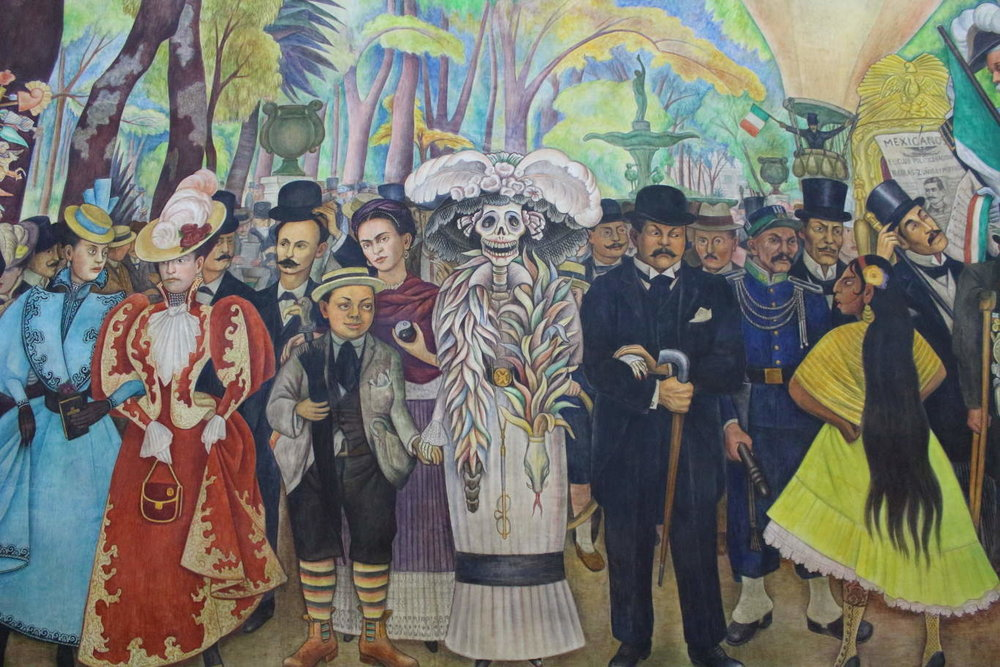 Diego Rivera, Dream of a Sunday Afternoon in Alameda Central Park, Mexico City