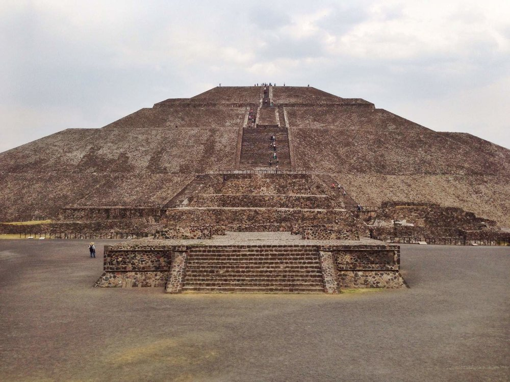 Pyramid of the Moon, Teotihuacan, Mexico City