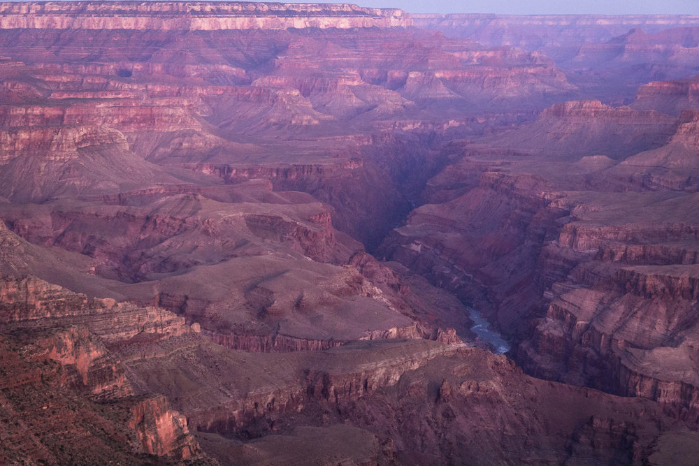 The Colorado River at Sunrise, South Rim