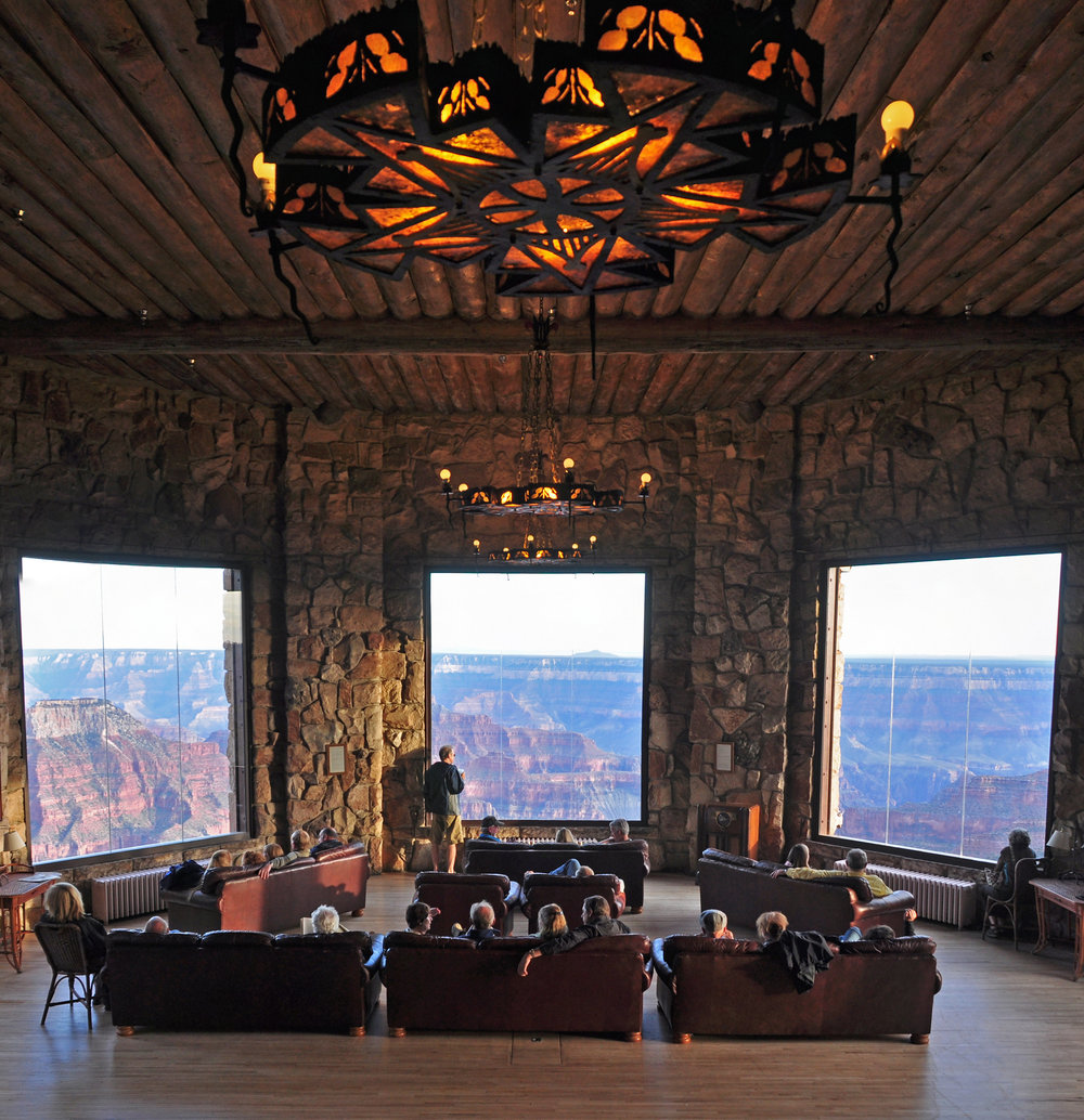 View from Grand Canyon Lodge, North Rim