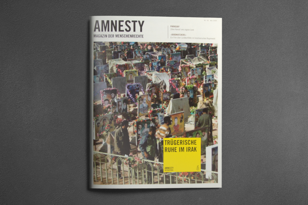 Amnesty Magazin - Editorial Design